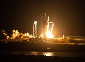 Photo of VIDEOS.  Successful take-off for Inspiration 4!  SpaceX's first tourists set off on their space cruise