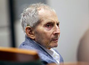 Photo of Robert Durst, wealthy American heir, found guilty of the murder of his best friend