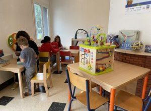 Photo of Lot.  The Montcuq-en-Quercy-Blanc toy library inaugurates its new premises