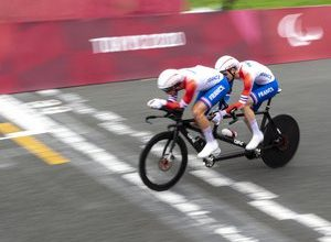 Photo of VIDEO.  Paralympic Games – cycling: the Lloveras-Ermenault tandem wins the 5th French gold medal