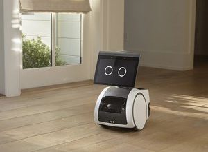 Photo of Amazon's little Astro robot, nice companion around the house or hell for privacy?