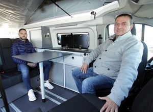 Photo of Montauban.  When motorhomes come to the Home and Real Estate Fair