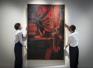 Photo of Auction: this painting by Soulages is ready for a new record