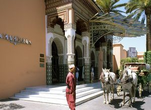 Photo of Enter the best hotel in the world, in Marrakech, Morocco