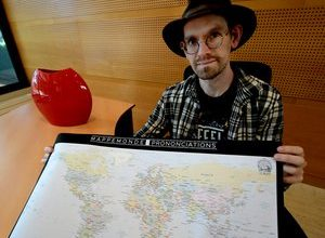 Photo of Toulouse: Nathan Kaufmann had the idea of creating a world map of pronunciations