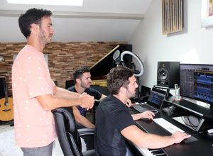 Photo of Tarbes: Members of Boulevard des Airs launch Home, their label for in-house production
