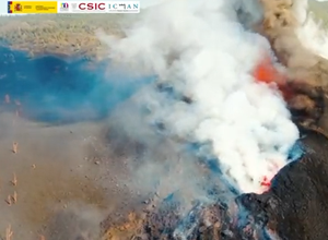 Photo of VIDEOS.  Volcano in the Canaries: the projection of lava intensifies following the collapse of the main mouth
